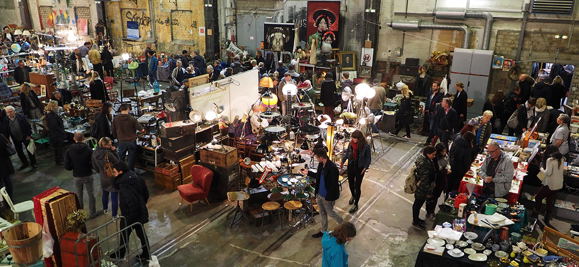 ANTIQUE, DESIGN & VINTAGE MARKET KAMPNAGEL